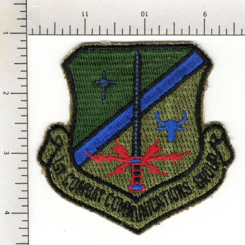 1 COMBAT COMMUNICATIONS GROUP - 1986-1991 + LINDSEY AIR STATION, WEST GERMANY