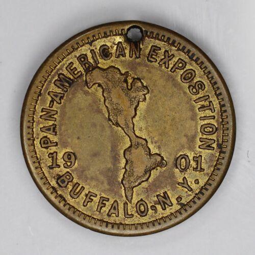 1901 PAN AMERICAN EXPOSITION BUFFALO NEW YORK TOKEN UNCIRCULATED (1549)