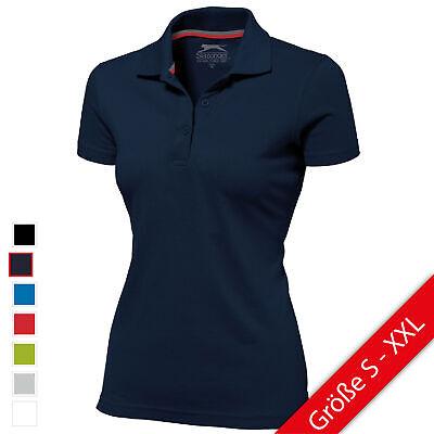 Neue Damen Polo (Slazenger Advantage Damen Poloshirt Polo Shirt NEU)