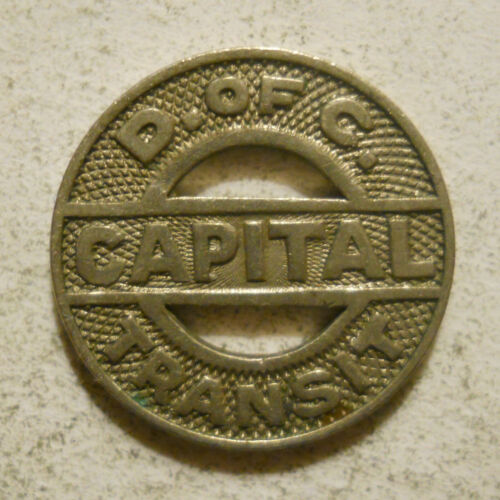 Capital Transit (Washington, DC) transit token - DC500Y