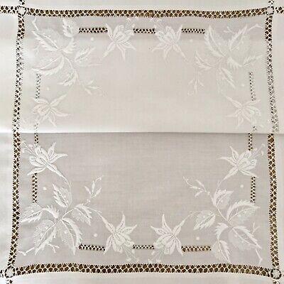 60*60cm 45*45cm Embroidery Vine Leaves Cotton Cushion Case Cover