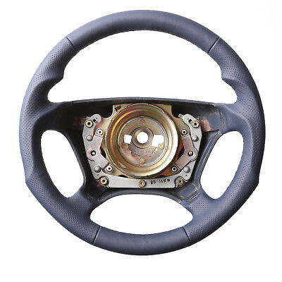 Mercedes Steering Wheel W202 W124 W210 W140 Ce S CLASS Tuning New Recovered Blue for sale  Shipping to Ireland