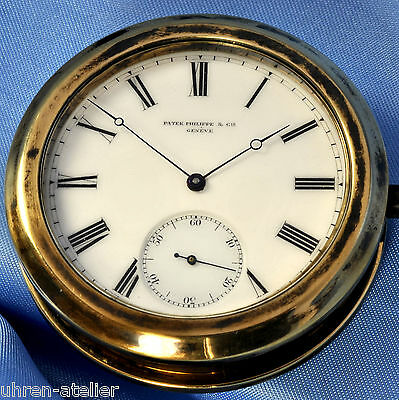 PATEK PHILIPPE & CO GENEVA HELICAL HAIRSPRING OBSERVATORY CHRONOMETER - 1878