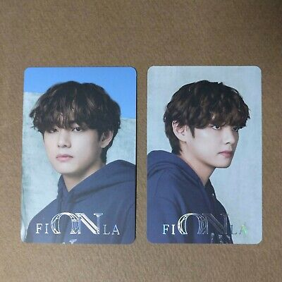 [Official] BTS FILA NOW ON Collection [V TAEHYUNG] Photocard 2pcs