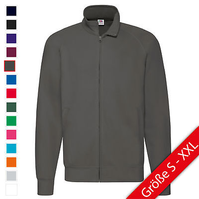 Fruit of the Loom Lightweight Sweat Jacket Jacke