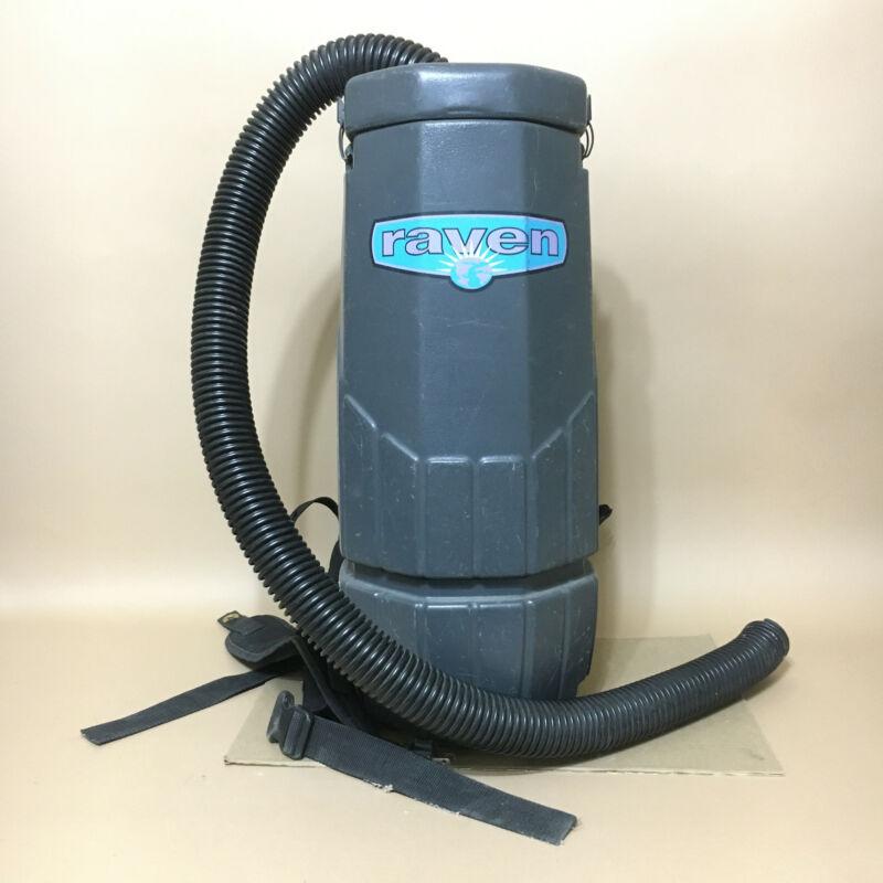 Black Sandia Plastics Raven Whisper Backpack Vacuum w Filter READ DESCRIPTION
