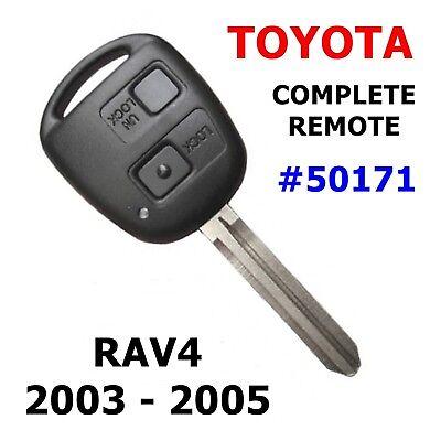 Toyota RAV4 Remote Car Key Rav4 Transponder key fob 2003 2004 2005  50171-4D67