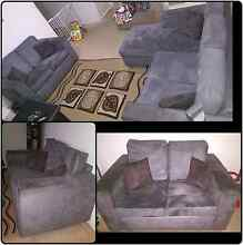 Lounge Suite - 2 Seater + 3 Seater With Chaise MUST SELL ASAP!! Sydenham Brimbank Area Preview