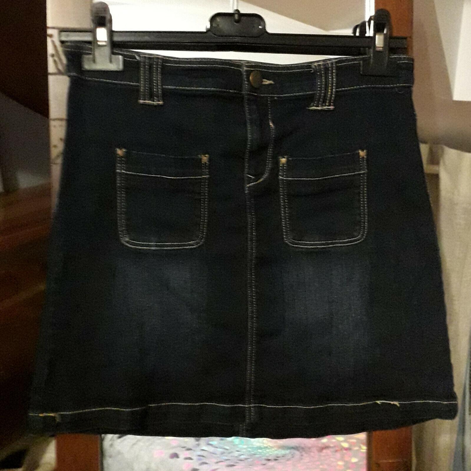 Jupe en jean 34