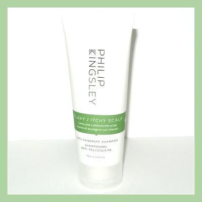 Philip Kingsley Anti-Dandruff Flaky Itchy Scalp Shampoo 2.53 fl. oz. 75 ml. NEW