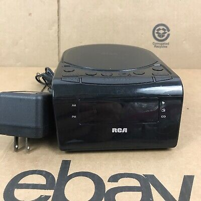 RCA CD Clock Radio - RC5610 - Battery Back Up - Alarm - Snooze - AM/FM 2.T1