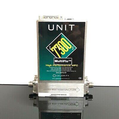 Celerity Unit Instruments Mass Flow Controller 7300 Series Ufc-7301c 30l O2