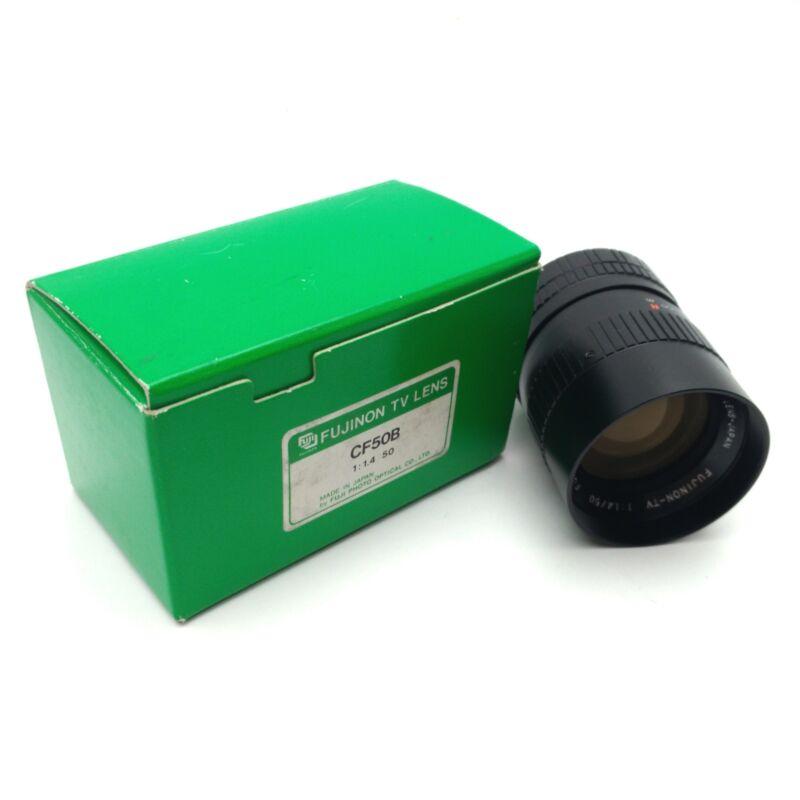 Fujinon CF50B Machine Vision Lens, 50mm Focal Length, 1:1.4 Aperture, C-Mount