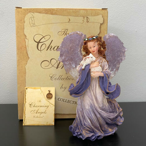 Boyds Charming Angels Serena Guardian of Peace Mint in Box w Placard Charm 6.75""