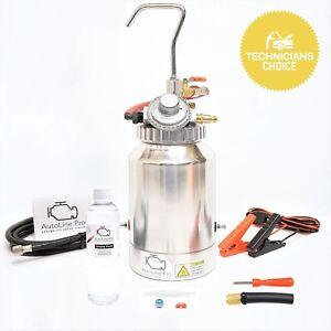 EVAP Smoke Machine Diagnostic Emissions Vacuum Leak Detector Tester with Adapter