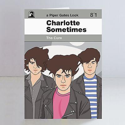 The Cure Ltd Edition A5 Birthday Card Robert Smith Goth Siouxsie
