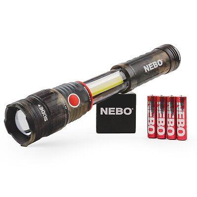 NEBO 6797 New Camo Slyde+ 2nd Gen 400 lumen handheld magnetic flashlight worklig