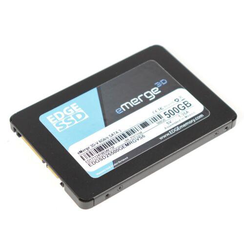 "Edge E3 500GB SSD eMerge 3D-V 6Gb/s 2.5"" Internal SATA 3 Solid State Drive"