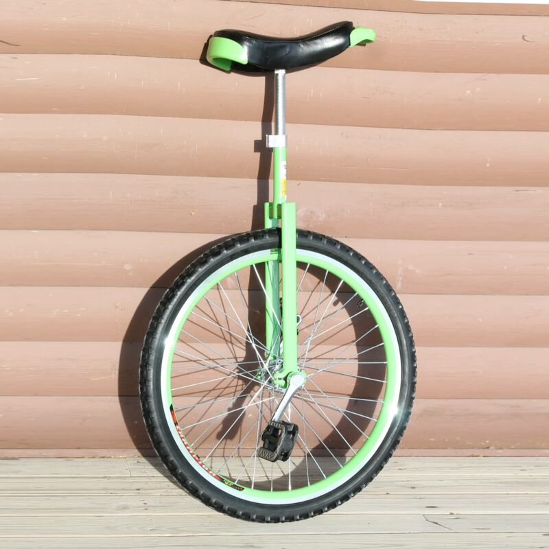 """Unifly 24"""" Road and Street Unicycle- C Frame - Double Aluminum Wheel"""