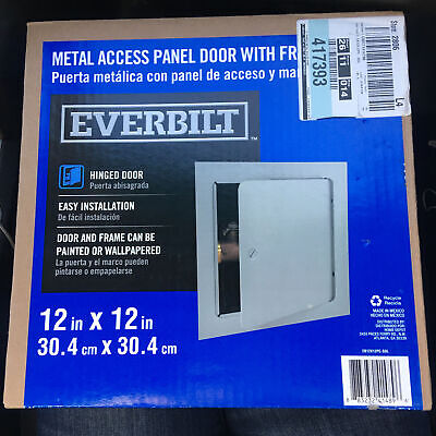 New Everbilt 12 In. X 12 In. Metal Wall Or Ceiling Access Panel - Open Box