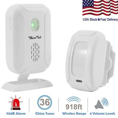 Security Driveway Alarm Motion Sensor Detect Alert Store Entry Chime (Store Secure)