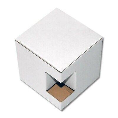 40x Single Wall Cardboard Box Mug Mailing Gifts Packaging Display White Postal