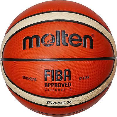 Molten BGM6X Basketball Indoor Outdoor FIBA APPROVED