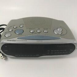 Genuine Emerson Research (CKS1850) SmartSet AM/FM Alarm Clock Radio, Excellent!!