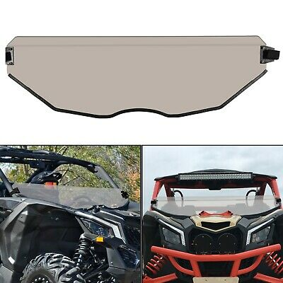 UTV Front Half Windshield For Can Am Maverick X3 Tint Tinted Polycarbonate