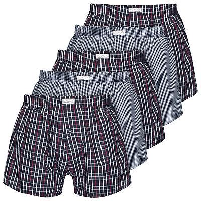5 Stk Herren BOXON®  Web Boxershorts Shorts 100% Baumwolle Unterhosen ÖKOTEX®