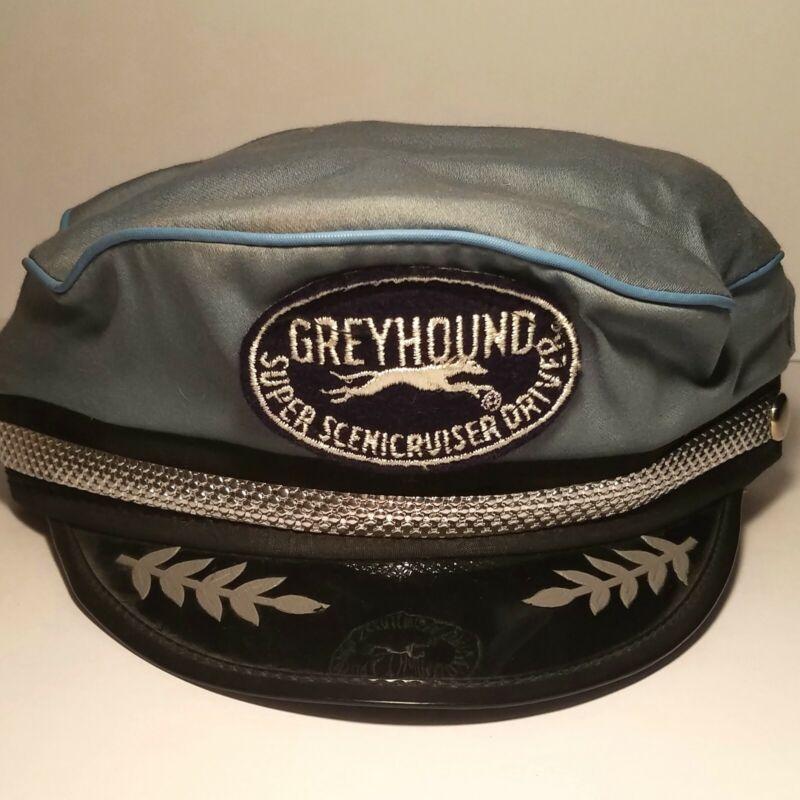 RARE Vintage Greyhound Bus Super Scenic Cruiser Driver Souvenir Cap Hat