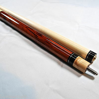 New Players Exotic Rengas and Birds-Eye Maple Pool Cue Billiards Stick E-3100