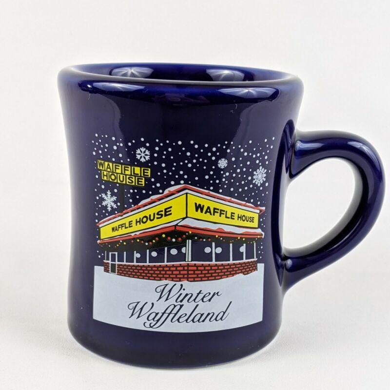 Waffle House Christmas Mug  2015 Winter Waffleland Coffee Restaurant