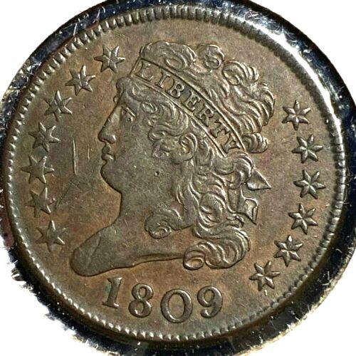 1809 1/2C Classic Head Half Cent (56360)