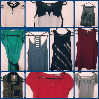 Size 8-10 clothes. Good used condition
