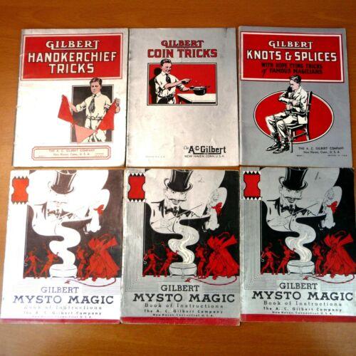 Gilbert Mysto Magic Books of Instruction