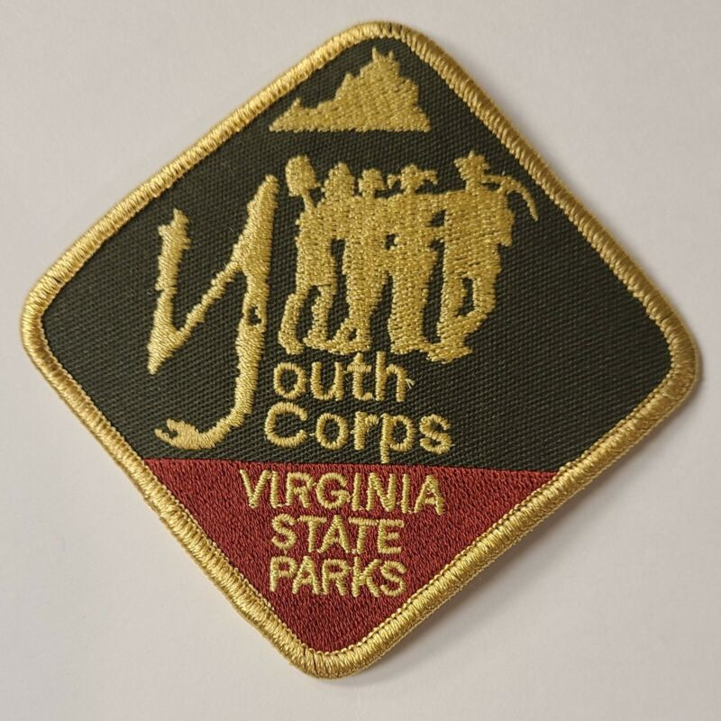 Virginia State Parks Youth Conservation Corps Patch New
