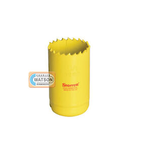 Starrett-40mm-Holesaw-High-Speed-Steel-Bi-Metal-Hole-Saw-HSS-Wood-Metal-Plastic