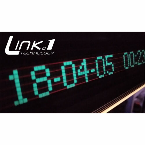 VFD precision digital clock music level light with integrated aluminum shell