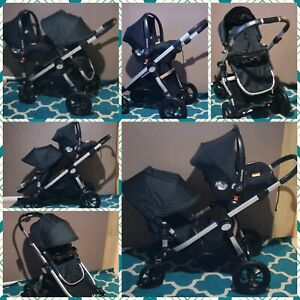 City select with Brand New Toddlerseat & Maxi-Cosi Carcapsule