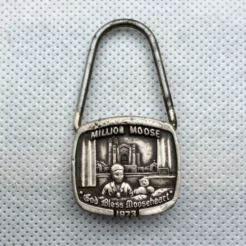 Million Moose Key Chain - God Bless Mooseheart -  Director General Paul Schmitz