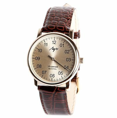 Single Handed (One Hand Luch Mechanical Wristwatch Men's. Single handed watch. 337477761 RUS)