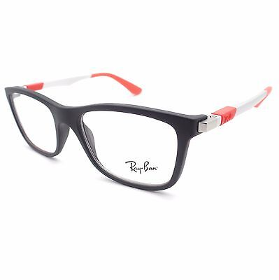 Ray Ban Kids 1549 3652 46mm Matte Black Red Frames New (Ray Ban Colored Frames)