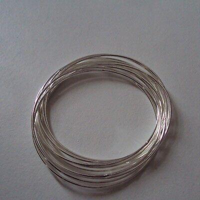 Bracelet mode en plaqué argent sterling 925, modèle anneau multi-rangs, neuf