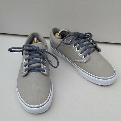 Women's Men's Grey Stone Vans Canvas Size UK 6  EU 39 Unworn