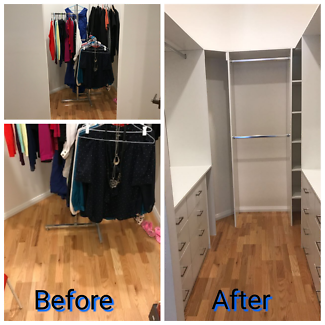 New Built-in wardrobes Or modify existing