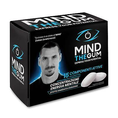 Mind The Gum - Chewing-Gum per Concentrazione, Memoria ed Energia Pack 36 gomme