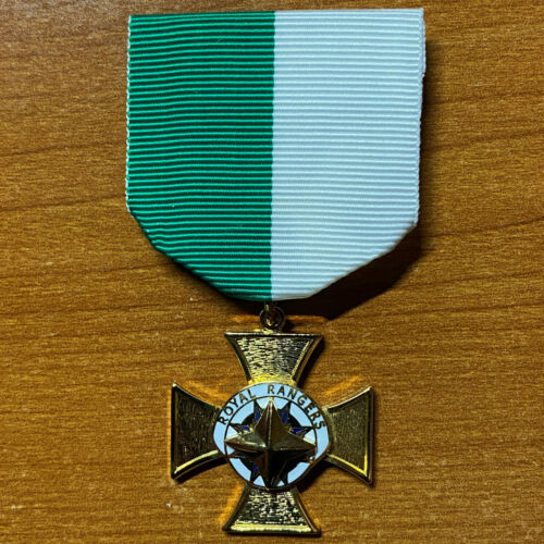 Royal Rangers Obsolete Junior Leaders Service Award