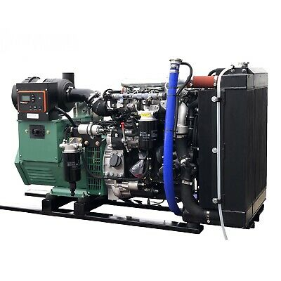NEW 25KW OPEN FRAME DIESEL TIER IV GENERATOR WITH HATZ DIESEL 3H50