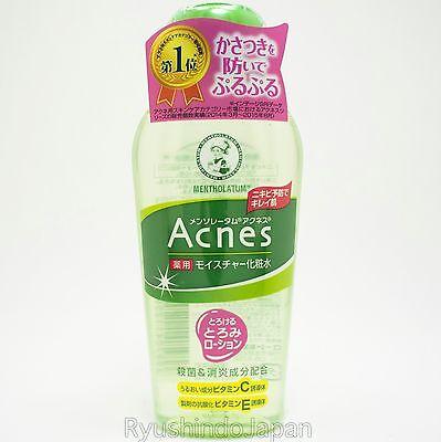 Mentholatum Acnes Medicated Toner 120mL with Vitamin C,E for Acne Care